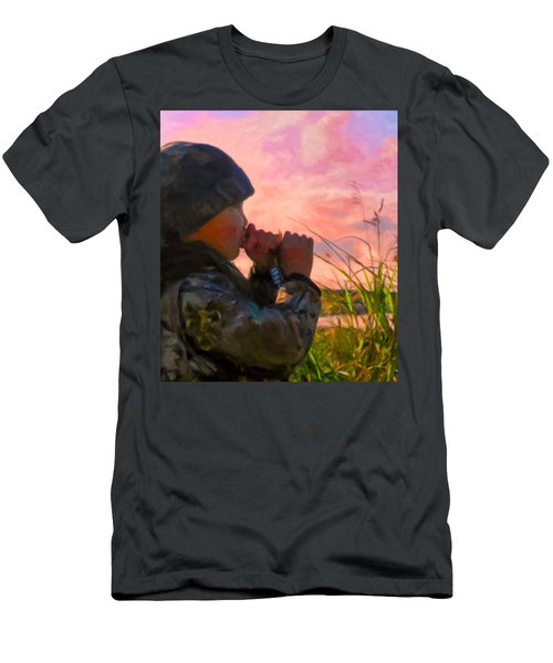 Duck Call Men's T-Shirt (Athletic Fit)