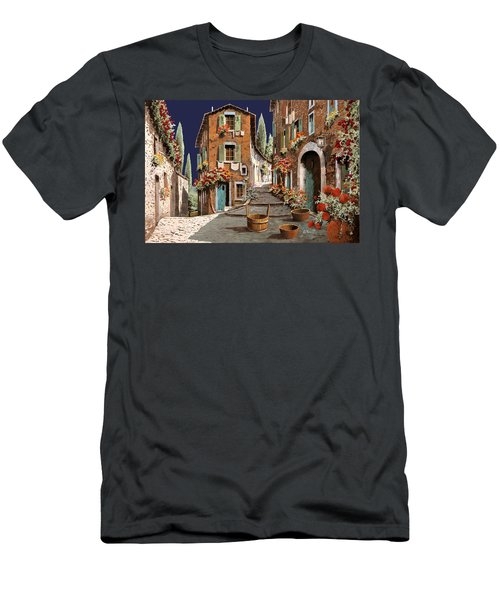 Due Strade Al Mattino Men's T-Shirt (Athletic Fit)