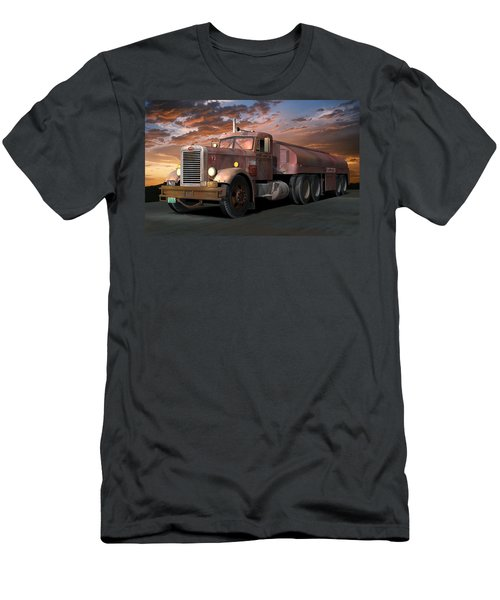 Duel Truck With Trailer Men's T-Shirt (Athletic Fit)