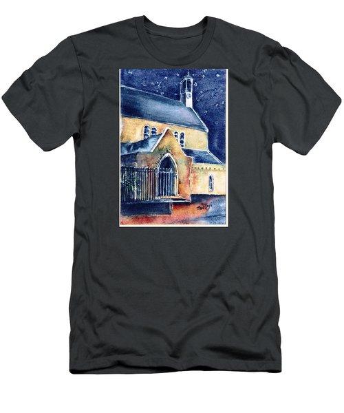 Duiske Abbey Ireland    Men's T-Shirt (Slim Fit) by Trudi Doyle