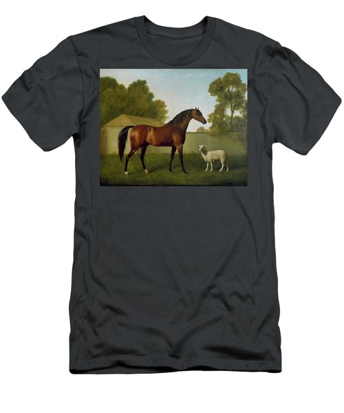 Dungannon, The Property Of Colonel Okelly, Painted In A Paddock With A Sheep, 1793 Men's T-Shirt (Athletic Fit)