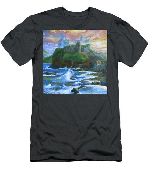 Dunscaith Castle - Shadows Of The Past Men's T-Shirt (Athletic Fit)