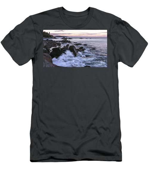 Dusk At West Quoddy Head Light Men's T-Shirt (Athletic Fit)