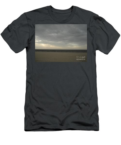 Dusk Beach Walk  Men's T-Shirt (Athletic Fit)