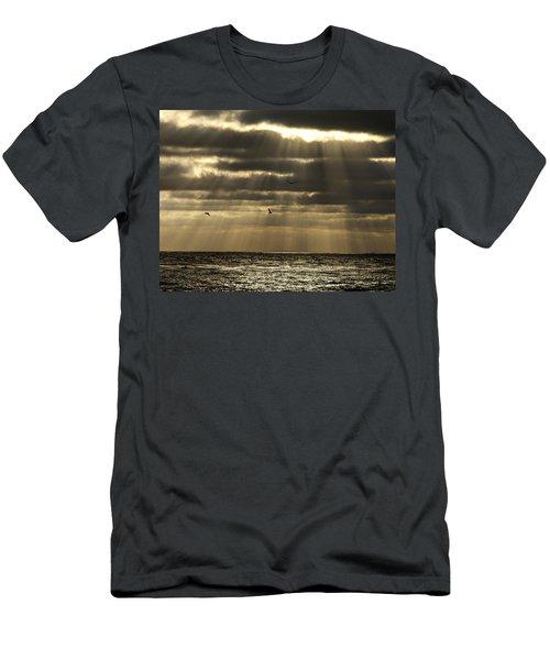 Dusk On Pacific Men's T-Shirt (Athletic Fit)