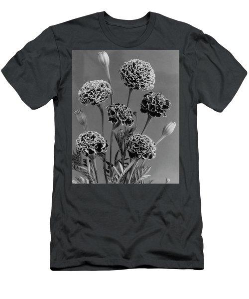 Dwarf Monarch Marigolds Men's T-Shirt (Athletic Fit)