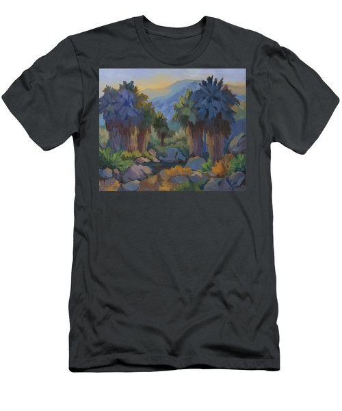 Early Light Indian Canyon Men's T-Shirt (Athletic Fit)