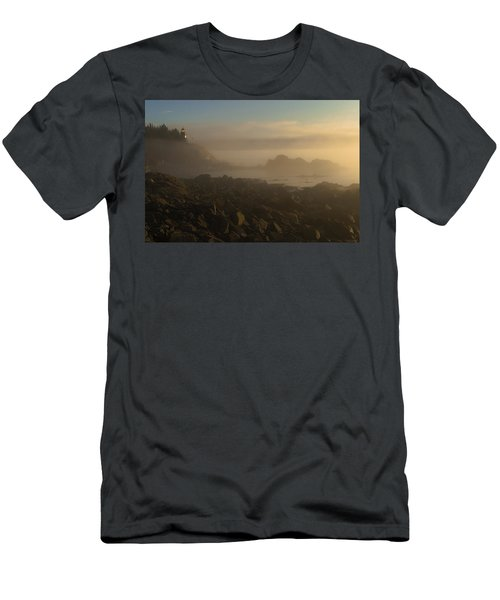 Early Morning Fog At Quoddy Men's T-Shirt (Athletic Fit)
