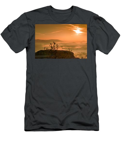 Early Morning On The Lilienstein Men's T-Shirt (Athletic Fit)