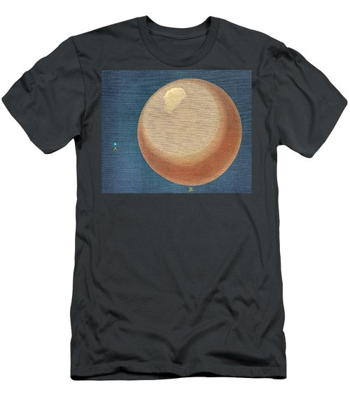 Earth And Gaseous Earth Men's T-Shirt (Athletic Fit)