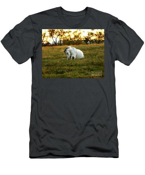 Easier Lying Down Men's T-Shirt (Athletic Fit)