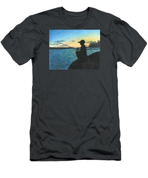 East Pond Men's T-Shirt (Slim Fit)