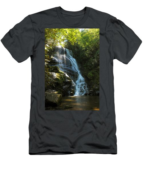 Eastatoe Falls North Carolina Men's T-Shirt (Athletic Fit)