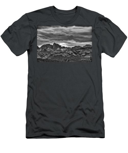 Eastern Sierras Summer Storm Men's T-Shirt (Athletic Fit)