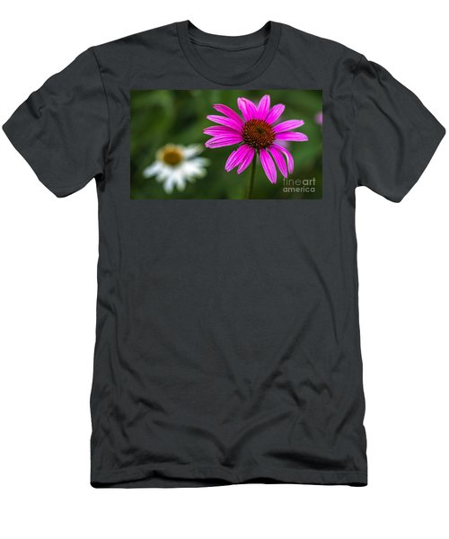 Echinacea Purpurea Men's T-Shirt (Athletic Fit)
