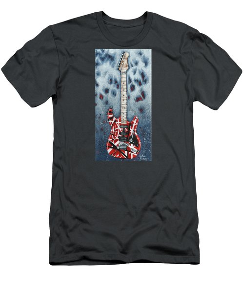 Eddie's Frankenstrat Men's T-Shirt (Slim Fit) by Arturo Vilmenay