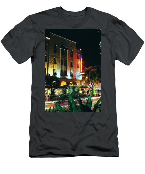 Edison Hotel Film Image Men's T-Shirt (Athletic Fit)