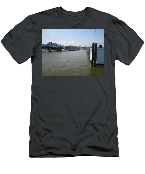 Men's T-Shirt (Slim Fit) featuring the photograph Ego Alley by Charles Kraus