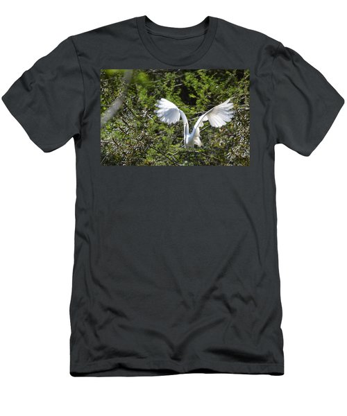 Taking Off Men's T-Shirt (Athletic Fit)