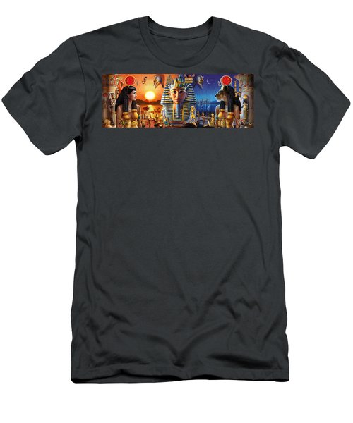 Egyptian Triptych 2 Men's T-Shirt (Athletic Fit)