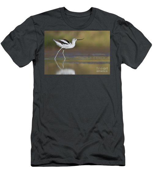 Elegant Avocet Men's T-Shirt (Athletic Fit)