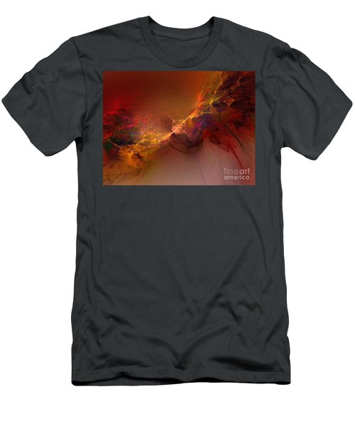 Elemental Force-abstract Art Men's T-Shirt (Athletic Fit)