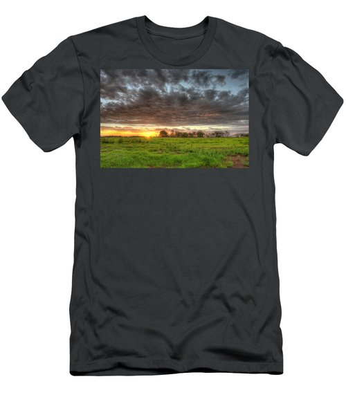 Elements Of A Waimea Sunset Men's T-Shirt (Athletic Fit)