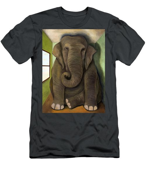 Elephant In The Room Wip Men's T-Shirt (Athletic Fit)