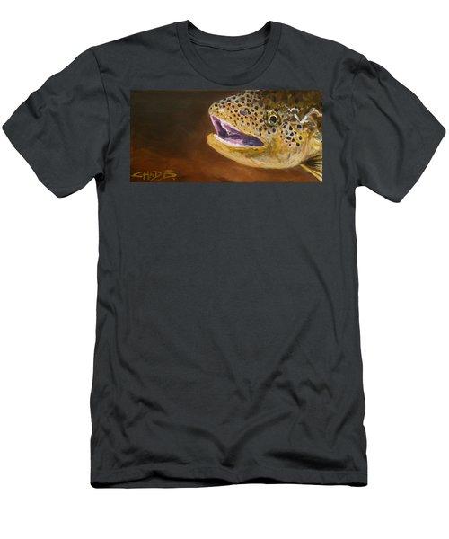 Elusive Brown Men's T-Shirt (Athletic Fit)