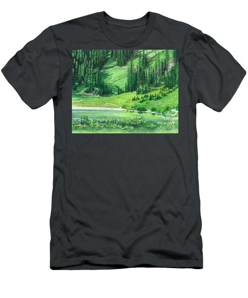 Emerald Lake Men's T-Shirt (Athletic Fit)