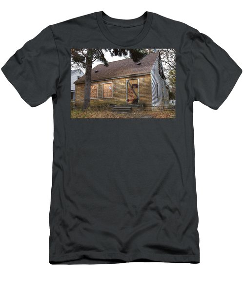 Eminem's Childhood Home Taken On November 11 2013 Men's T-Shirt (Athletic Fit)