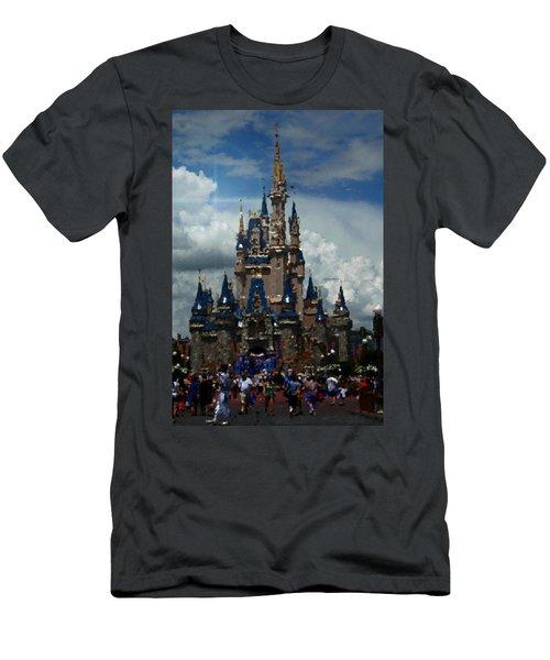 Enchanted Castle Men's T-Shirt (Athletic Fit)