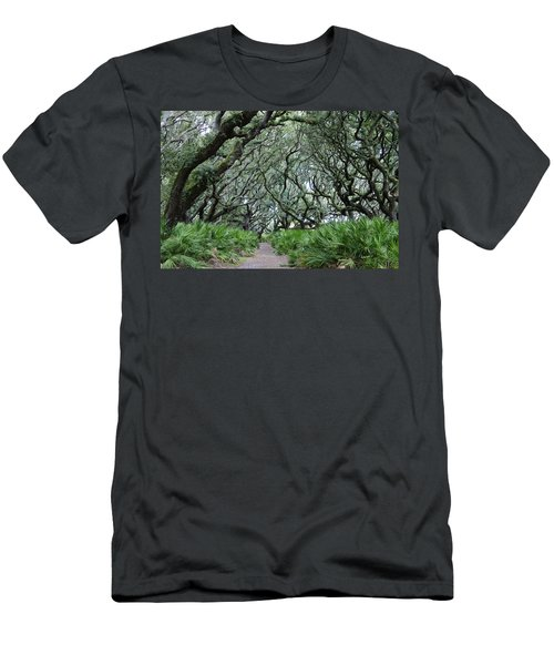 Enchanted Forest Men's T-Shirt (Slim Fit) by Laurie Perry