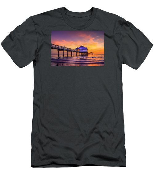 End Of The Day Men's T-Shirt (Slim Fit) by Marvin Spates