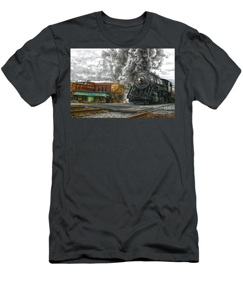 Engine 734 On The Western Maryland Scenic Railroad  Men's T-Shirt (Athletic Fit)