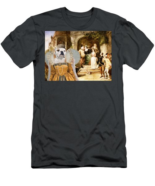 English Bulldog Art - Merry Wives Of Windsor Men's T-Shirt (Athletic Fit)
