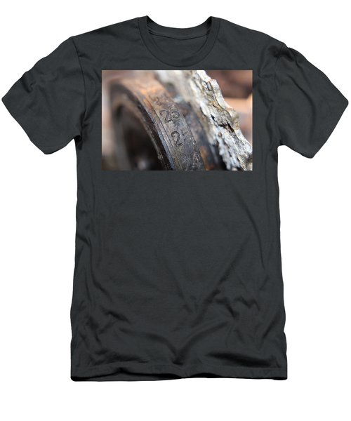 Enigma Rotor Men's T-Shirt (Athletic Fit)