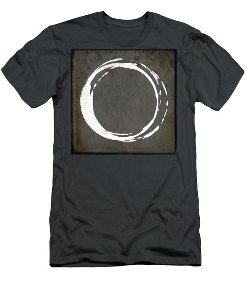 Enso No. 107 Gray Brown Men's T-Shirt (Athletic Fit)