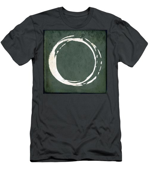 Enso No. 107 Green Men's T-Shirt (Athletic Fit)