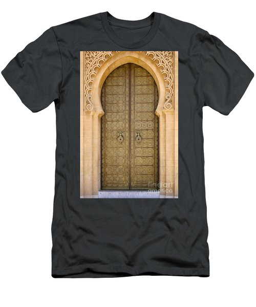 Entrance Door To The Mausoleum Mohammed V Rabat Morocco Men's T-Shirt (Athletic Fit)