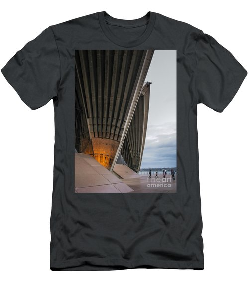 Entrance To Opera House In Sydney Men's T-Shirt (Athletic Fit)
