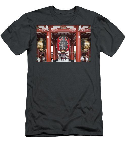 Entrance To Senso-ji Temple Men's T-Shirt (Athletic Fit)