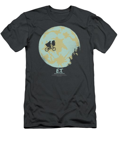 Et - In The Moon Men's T-Shirt (Slim Fit) by Brand A