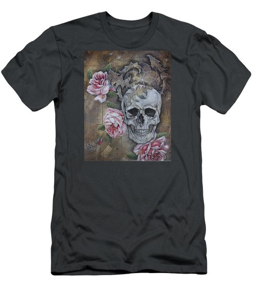 Men's T-Shirt (Slim Fit) featuring the painting Eternal by Sheri Howe