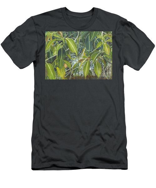 Euca - Leaves Section Men's T-Shirt (Athletic Fit)