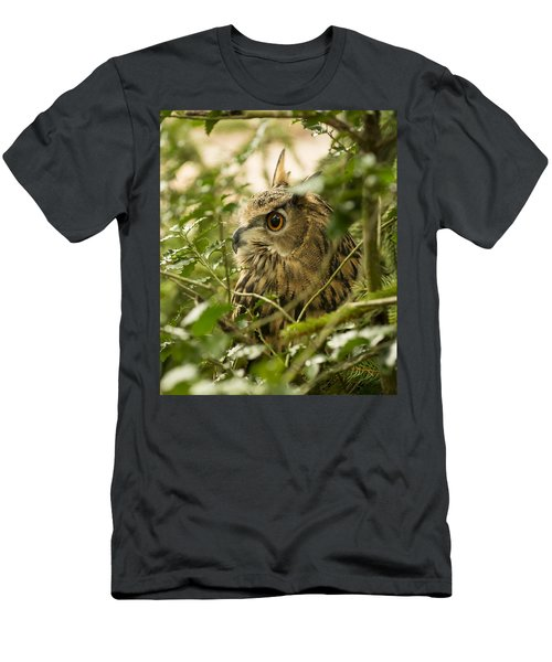 Eurasian Eagle-owl 2 Men's T-Shirt (Athletic Fit)