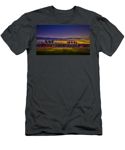 Evening At The Park Men's T-Shirt (Athletic Fit)
