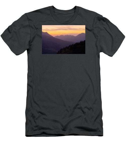 Evening Layers Men's T-Shirt (Athletic Fit)
