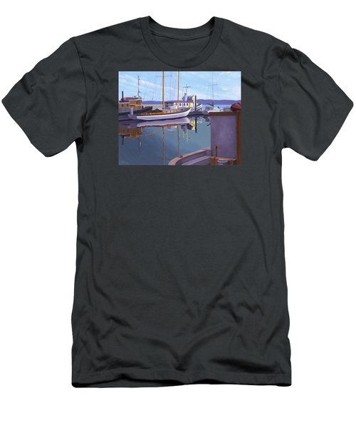 Evening On Malaspina Strait Men's T-Shirt (Slim Fit) by Gary Giacomelli