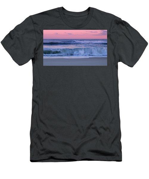 Evening Waves - Jersey Shore Men's T-Shirt (Athletic Fit)